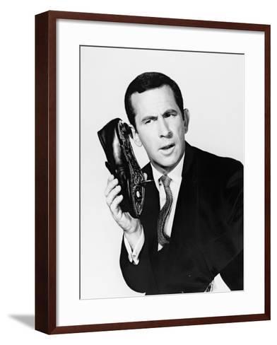 Get Smart-TV, 1965--Framed Art Print