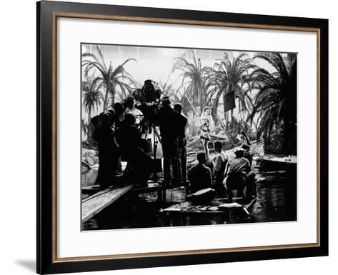 The Hurricane, 1937--Framed Art Print