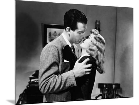 Double Indemnity, 1944--Mounted Photographic Print