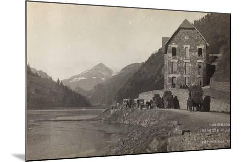 World War I: Transfer of Italian Troops to the Col Di Lana--Mounted Photographic Print