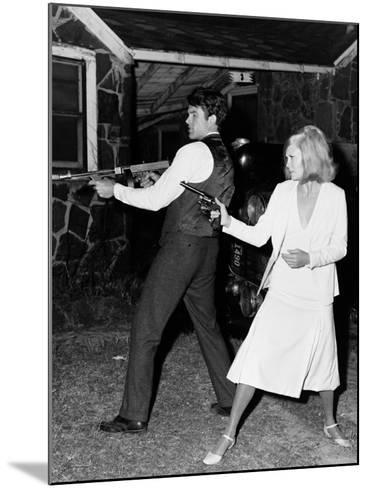 Bonnie and Clyde, 1967--Mounted Photographic Print