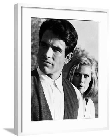 Bonnie and Clyde, 1967--Framed Art Print