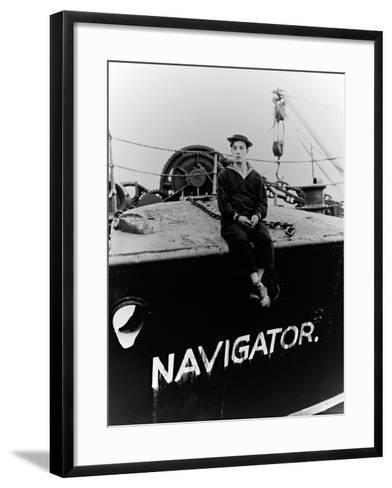 The Navigator, 1924--Framed Art Print