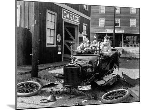 The Garage, 1919--Mounted Photographic Print