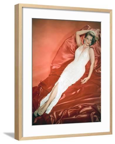 The Revolt of Mamie Stover, 1956--Framed Art Print