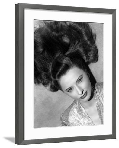 Barbara Stanwyck--Framed Art Print