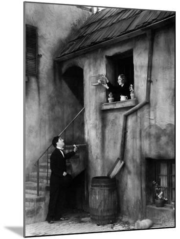 City Lights, 1931--Mounted Photographic Print