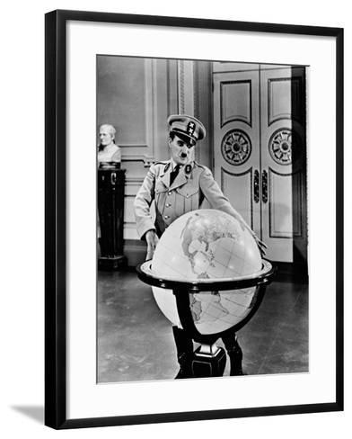 The Great Dictator, 1940--Framed Art Print
