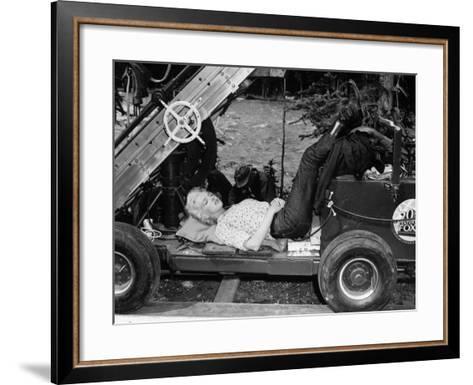 River of No Return, 1954--Framed Art Print