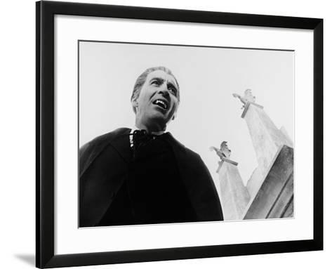 Dracula, Prince of Darkness, 1966--Framed Art Print