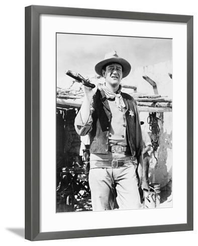Rio Bravo, 1959--Framed Art Print