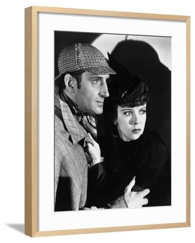 The Adventures of Sherlock Holmes, 1939--Framed Art Print