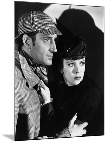 The Adventures of Sherlock Holmes, 1939--Mounted Photographic Print