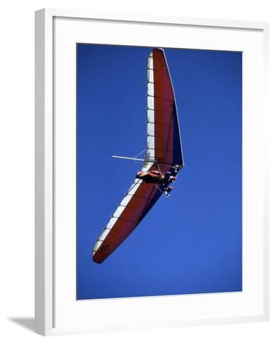 Hang Glider--Framed Art Print