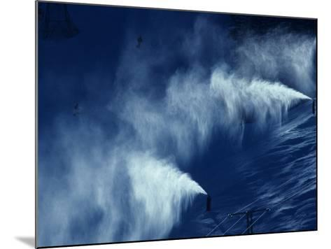 Snow Making Jets Working-Paul Sutton-Mounted Photographic Print