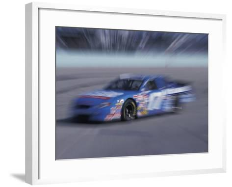 Auto Racing Action-Chris Trotman-Framed Art Print