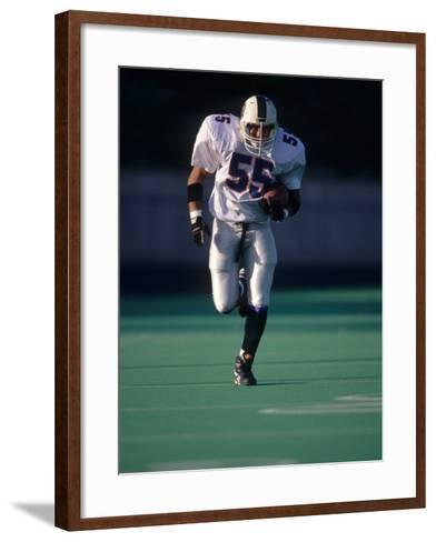 Football Running Back--Framed Art Print
