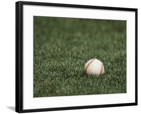 Baseball-Steven Sutton-Framed Art Print