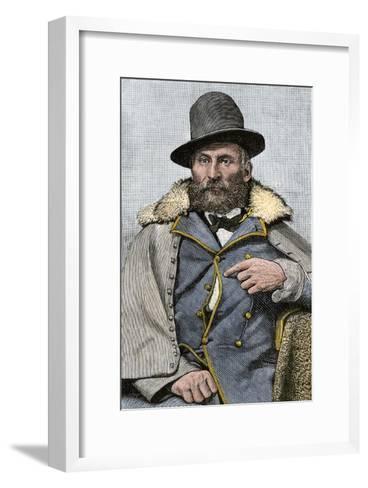 General George Crook, US Army--Framed Art Print