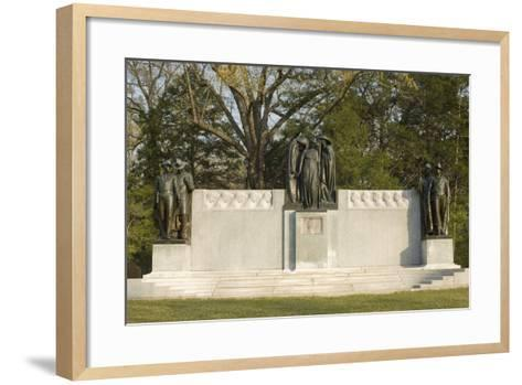 Confederate Memorial, Shiloh National Military Park, Tennessee--Framed Art Print