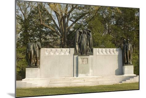 Confederate Memorial, Shiloh National Military Park, Tennessee--Mounted Photographic Print