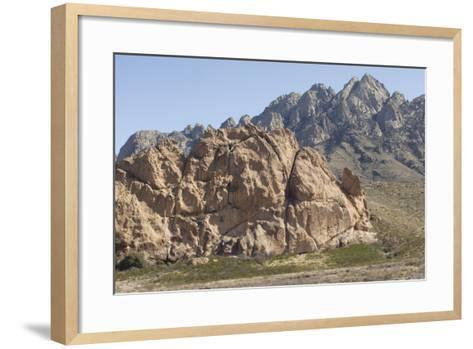 La Cueva, a Tuff Outcrop in the Igneous Organ Mountains, Southern New Mexico--Framed Art Print