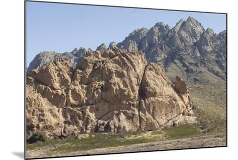 La Cueva, a Tuff Outcrop in the Igneous Organ Mountains, Southern New Mexico--Mounted Photographic Print