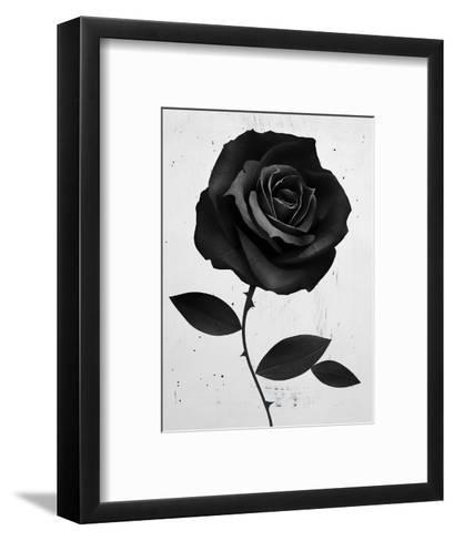 Fabric Rose-Ruben Ireland-Framed Art Print