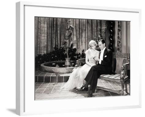 Silent Still: Couples--Framed Art Print