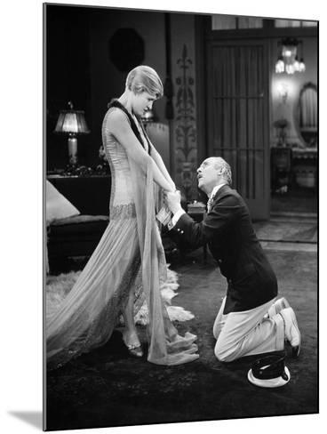Silent Film Still: Couples--Mounted Photographic Print