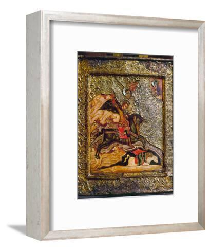 Russian Icon: Demetrius--Framed Art Print