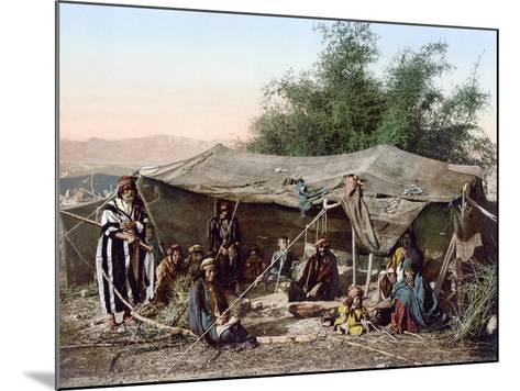 Holy Land: Bedouin Camp--Mounted Photographic Print