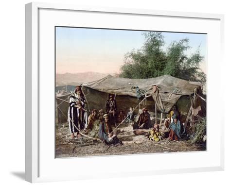 Holy Land: Bedouin Camp--Framed Art Print