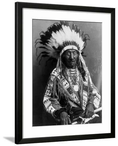 Red Cloud (1822-1909)--Framed Art Print