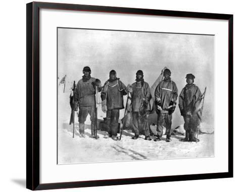 Terra Nova Expedition-Herbert Ponting-Framed Art Print