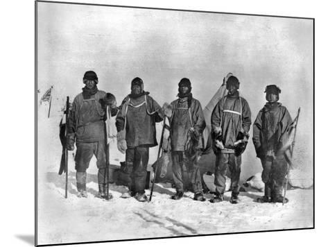Terra Nova Expedition-Herbert Ponting-Mounted Photographic Print