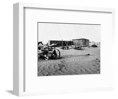 Dust Bowl, C1936-Dorothea Lange-Framed Art Print