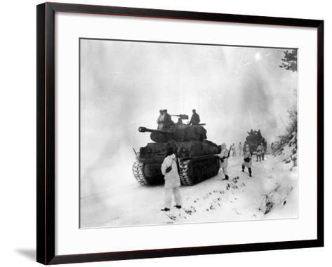 Korean War: Allied Forces--Framed Art Print