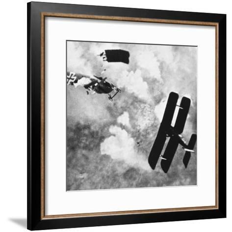 World War I: Aerial Combat--Framed Art Print