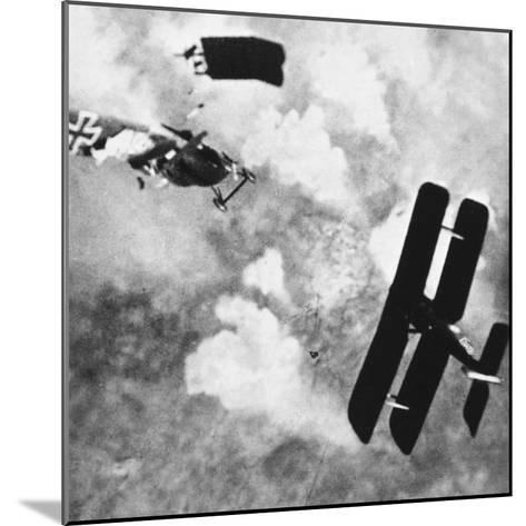 World War I: Aerial Combat--Mounted Photographic Print
