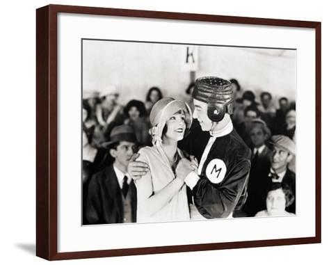 Silent Still: College--Framed Art Print
