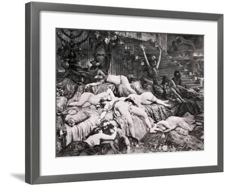 Belshazzar's Feast--Framed Art Print