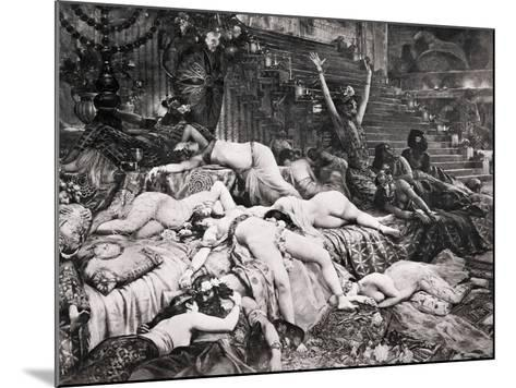 Belshazzar's Feast--Mounted Photographic Print