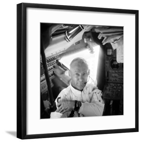 Edwin 'Buzz' Aldrin (1930-)-Neil Armstrong-Framed Art Print