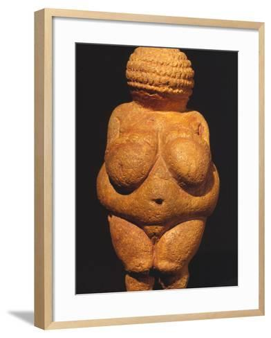 Venus Of Willendorf--Framed Art Print