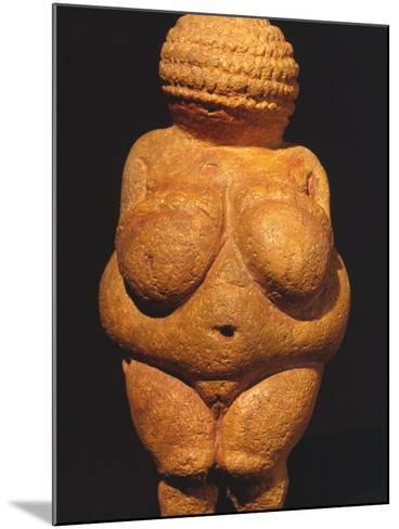 Venus Of Willendorf--Mounted Photographic Print