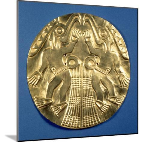 Pre-Columbian Gold, 1000 Ad--Mounted Photographic Print