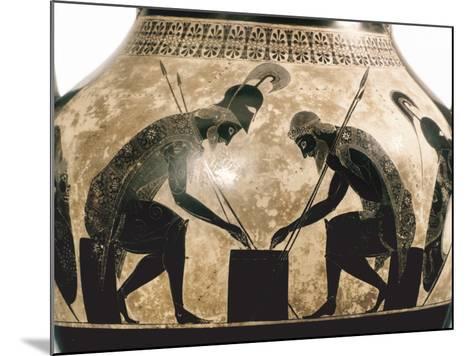 Achilles & Ajax, C540 B.C- Exekias-Mounted Photographic Print