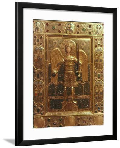Byzantine Art: St. Michael--Framed Art Print