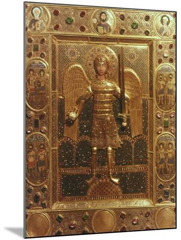 Byzantine Art: St. Michael--Mounted Photographic Print